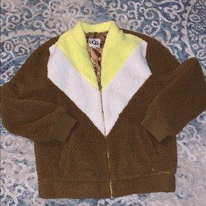 New Ugg Annalise Teddy Jacket